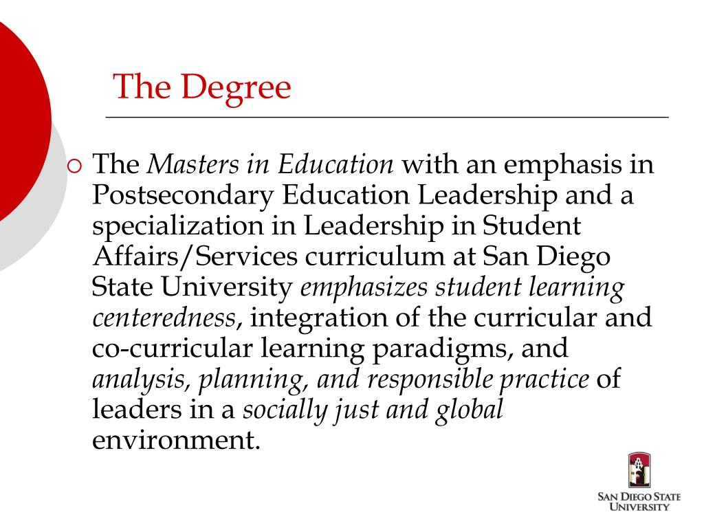 The Degree