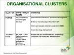 organisational clusters24
