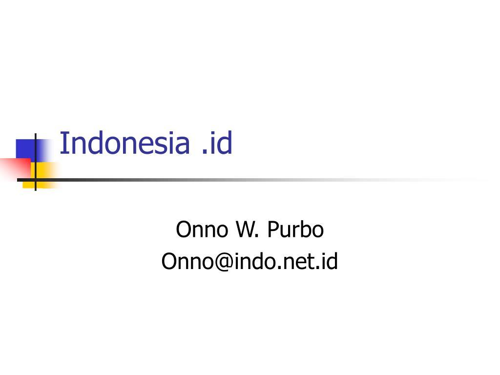 Indonesia .id