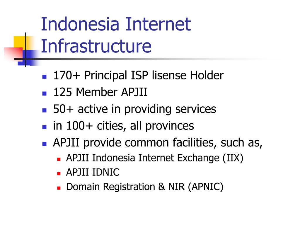 Indonesia Internet Infrastructure
