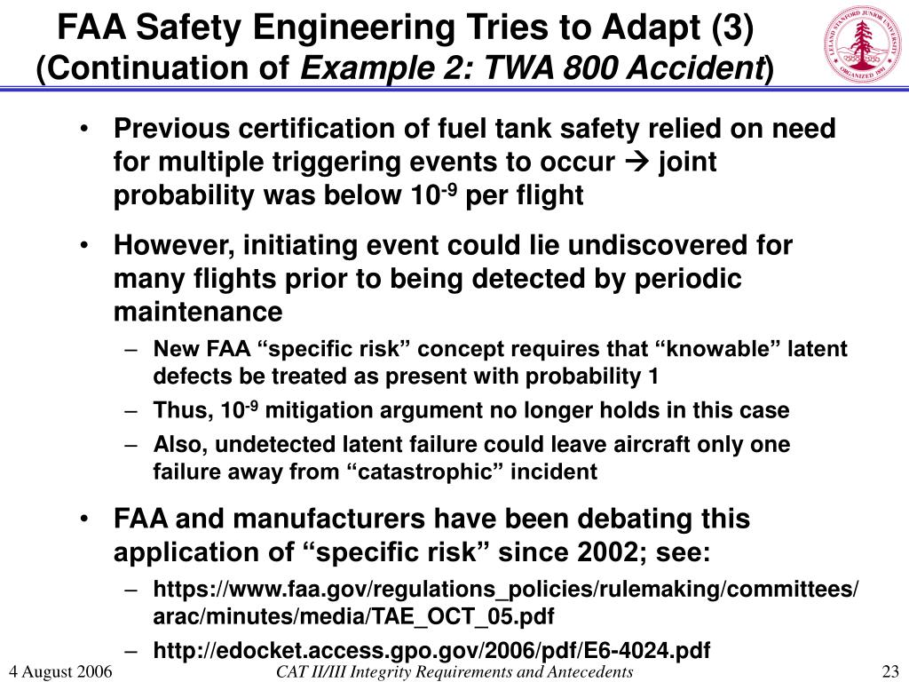 FAA Safety Engineering Tries to Adapt (3)