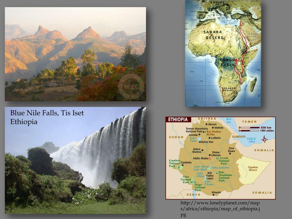 Blue Nile Falls, Tis Iset Ethiopia