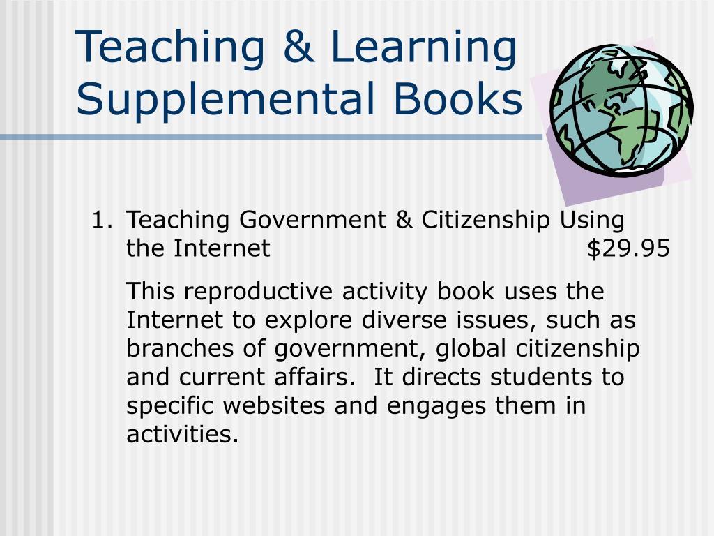 Teaching & Learning Supplemental Books