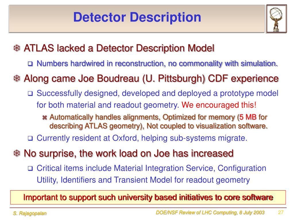Detector Description