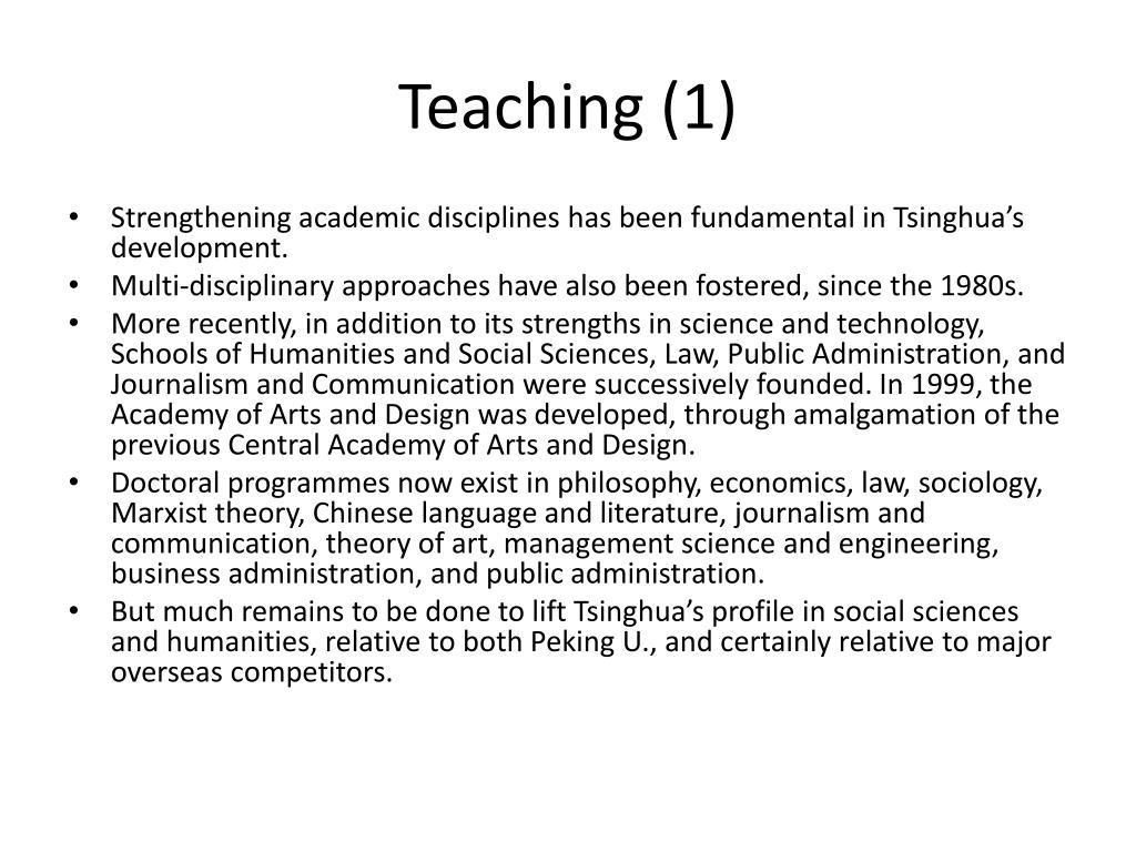 Teaching (1)