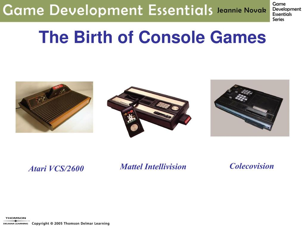 The Birth of Console Games