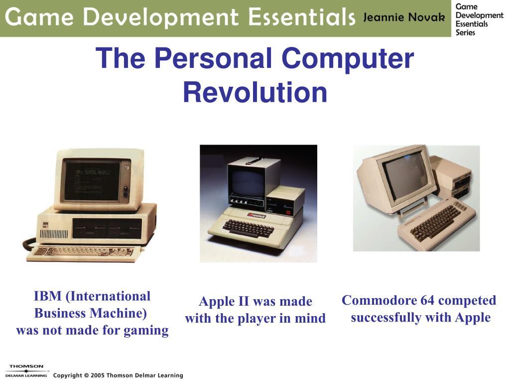 The Personal Computer Revolution