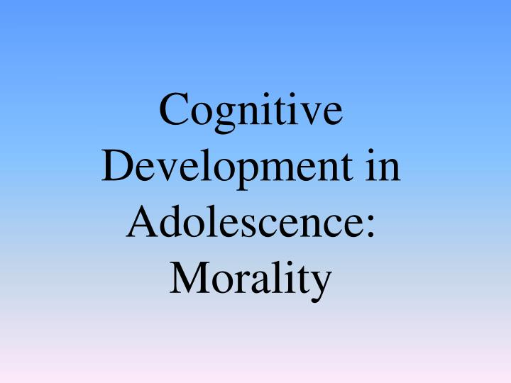 moral development in adolescence A defining aspect of adolescence is the development of a consistent and committed self the psychology of moral development: essays on moral development.