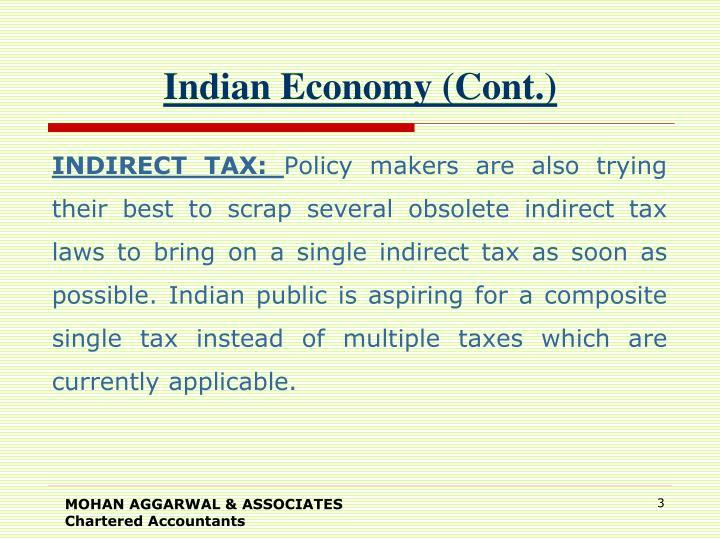 Indian economy cont