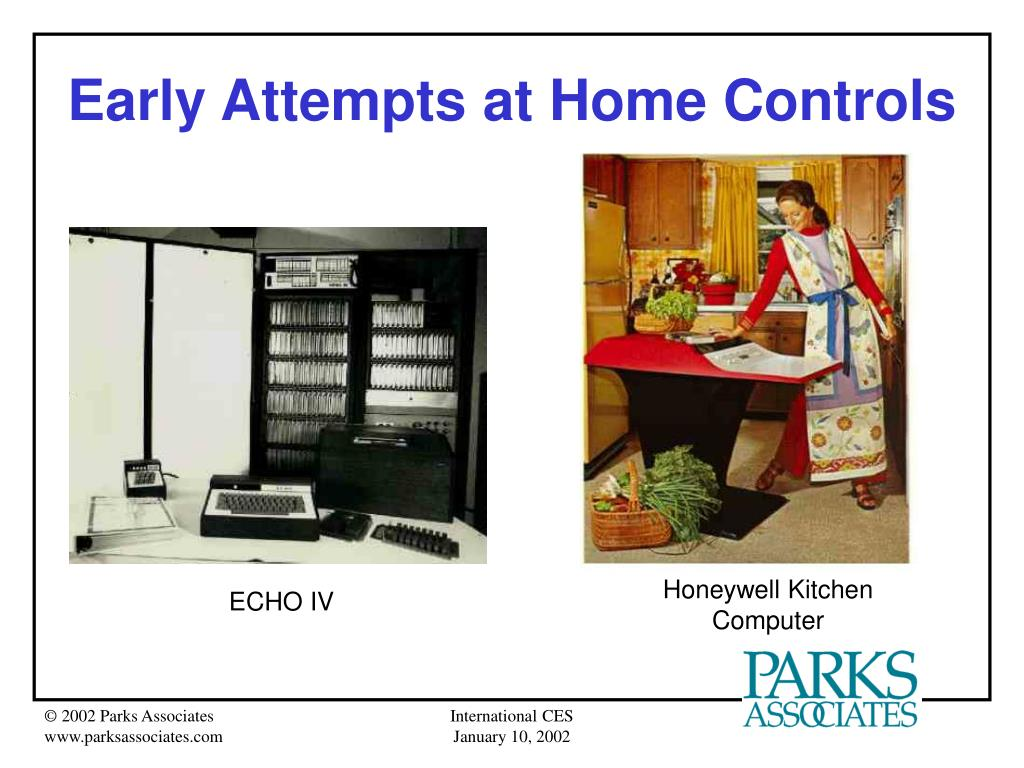 Early Attempts at Home Controls
