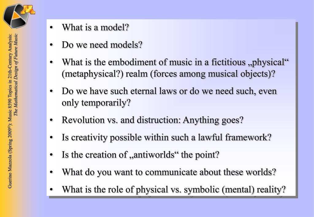 What is a model?