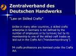 zentralverband des deutschen handwerks4