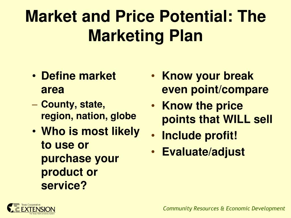Define market area