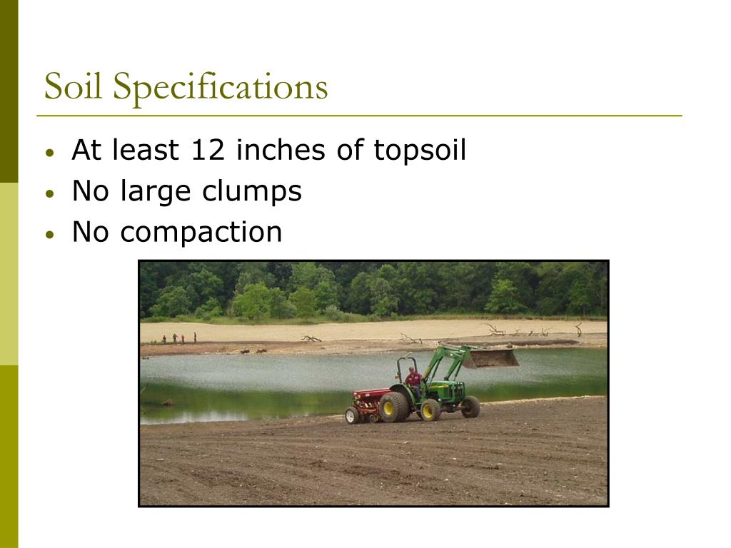 Soil Specifications