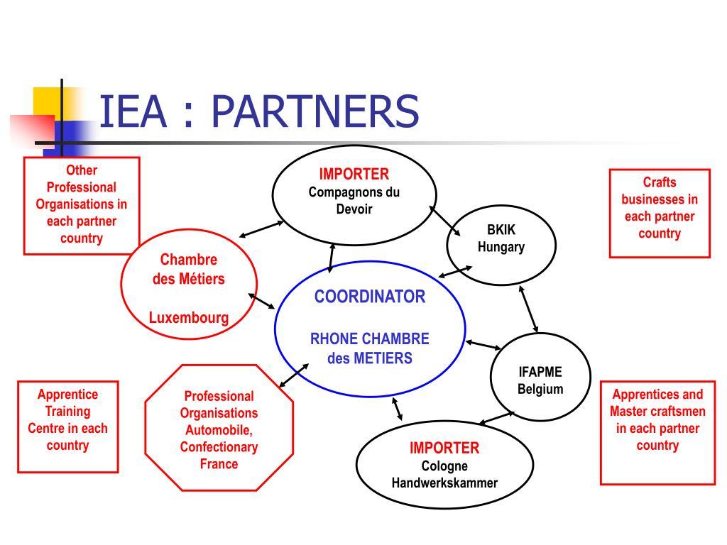 IEA : PARTNERS