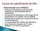 causas de subutilizaci n de asa43
