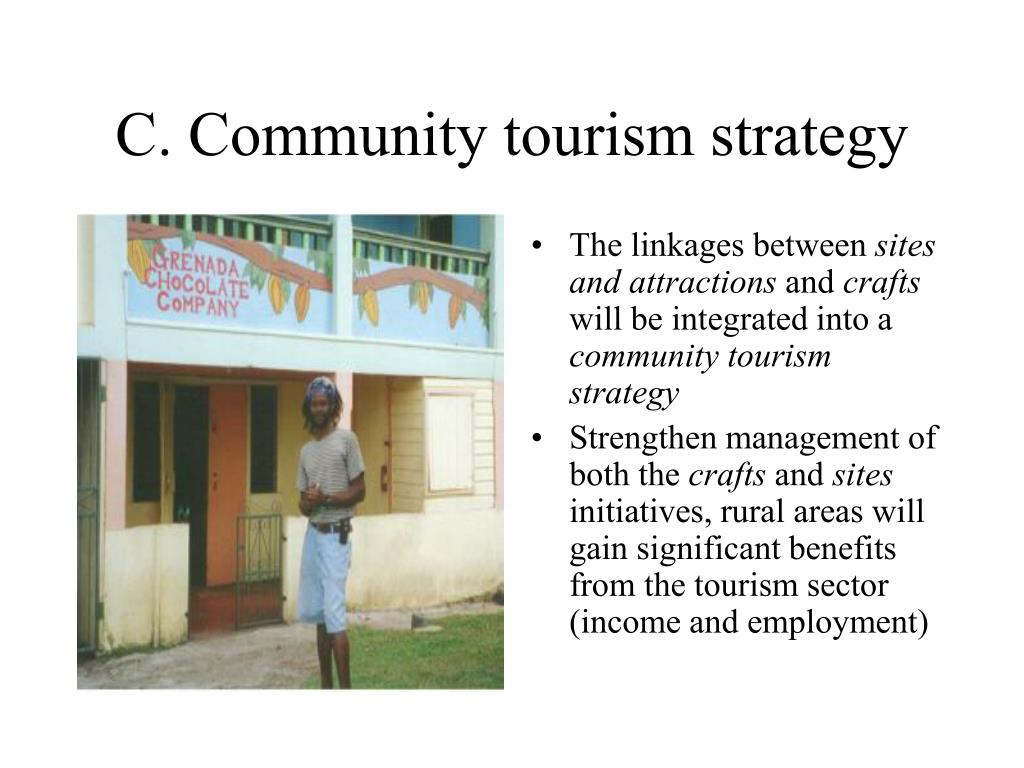 C. Community tourism strategy
