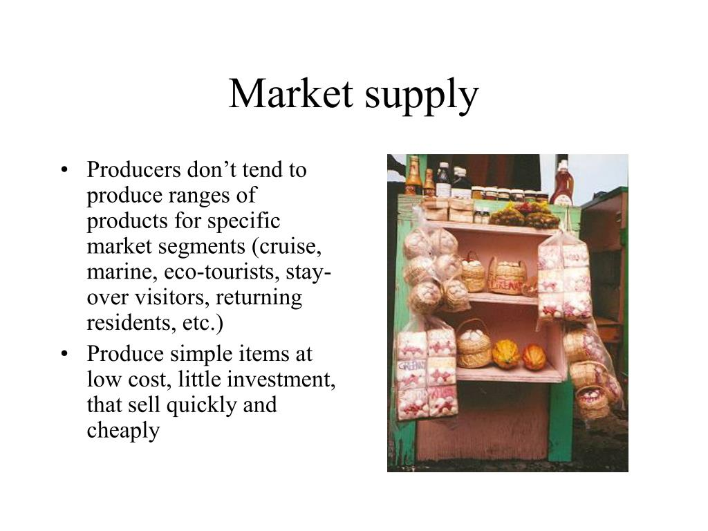 Market supply
