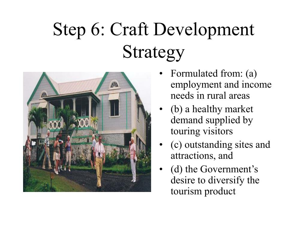 Step 6: Craft Development Strategy