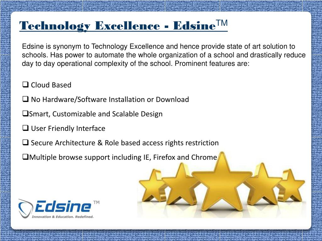Technology Excellence -