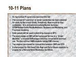 10 11 plans