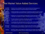 net market value added services