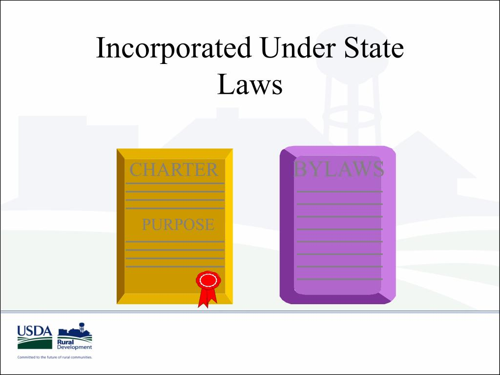Incorporated Under State