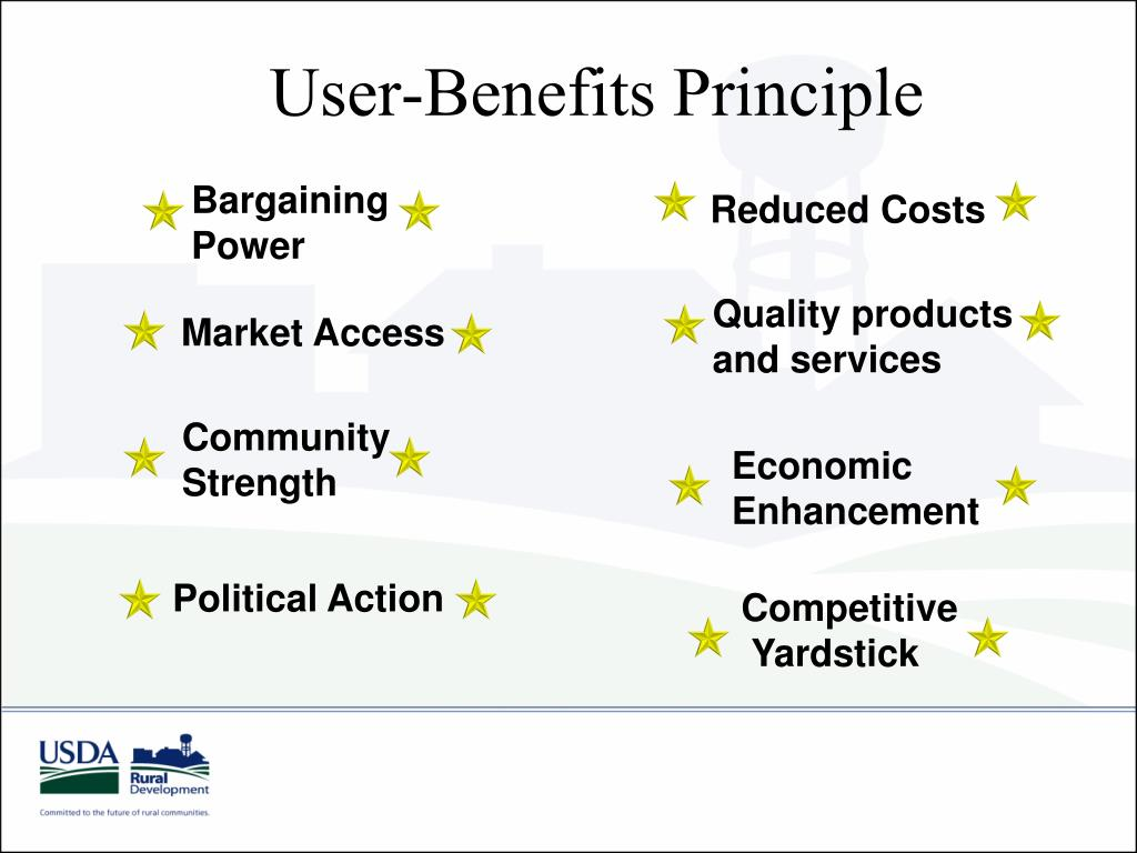 User-Benefits Principle