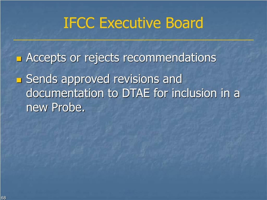 IFCC Executive Board