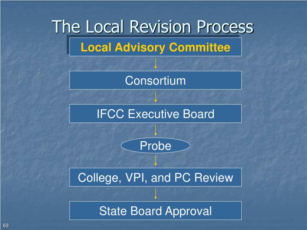 The Local Revision Process