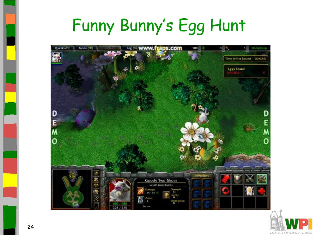 Funny Bunny's Egg Hunt