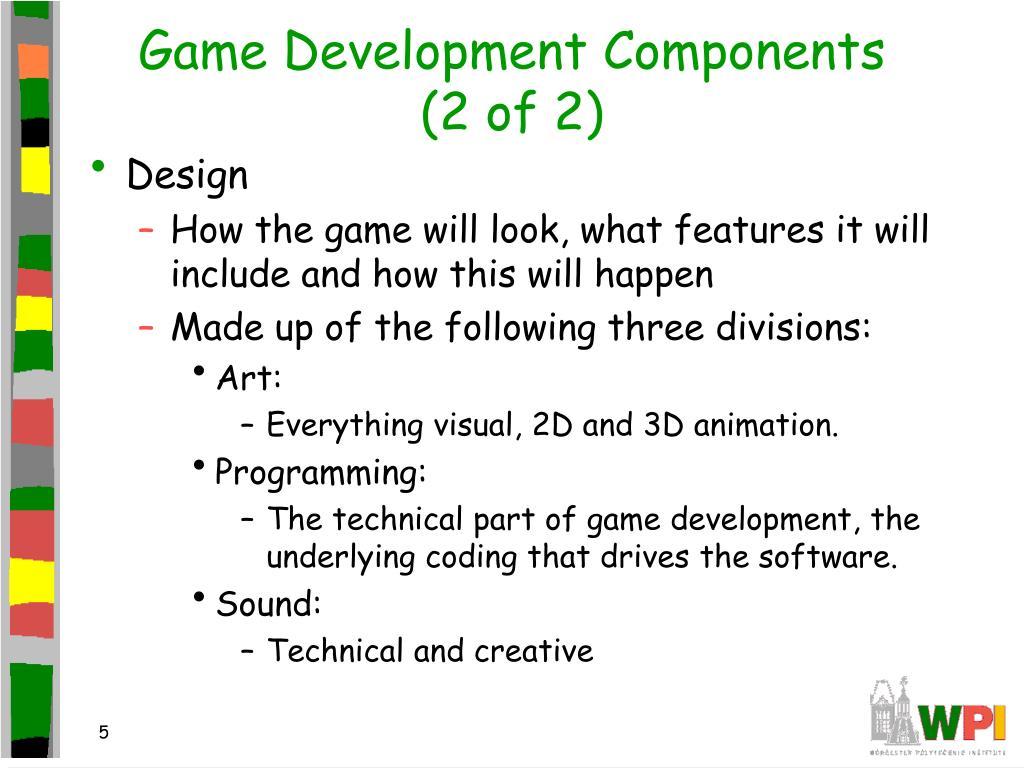 Game Development Components