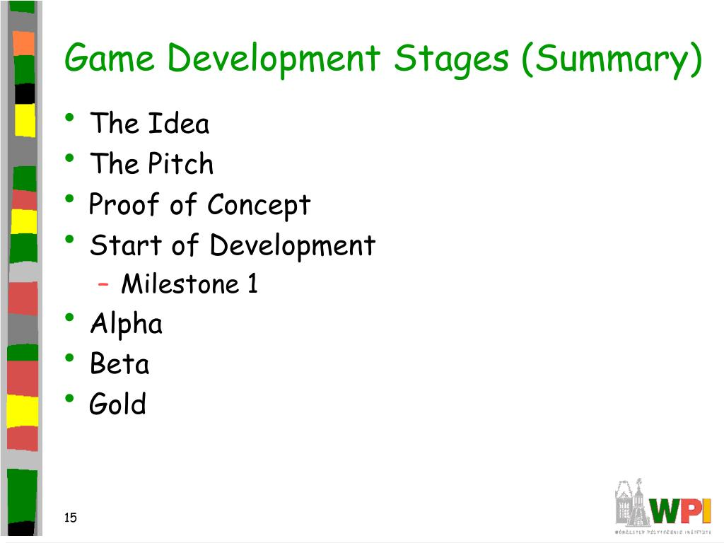 Game Development Stages (Summary)