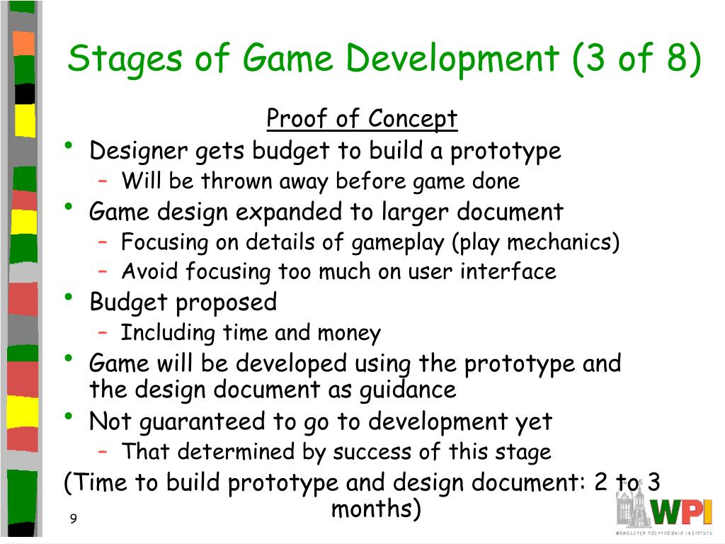 Stages of Game Development (3 of 8)