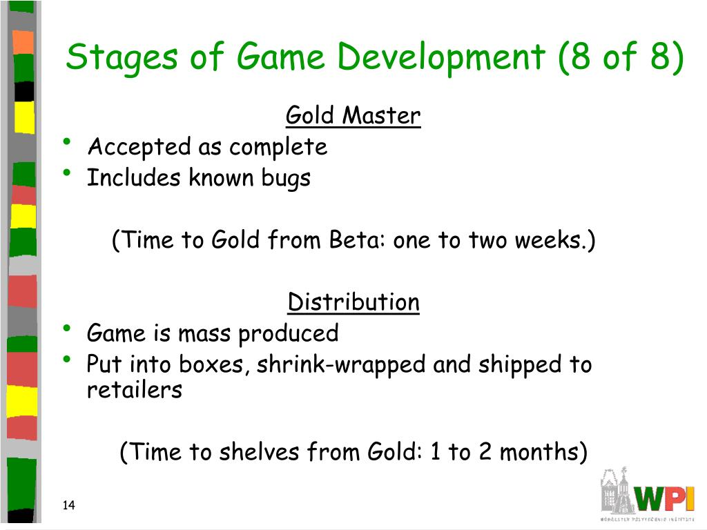 Stages of Game Development (8 of 8)