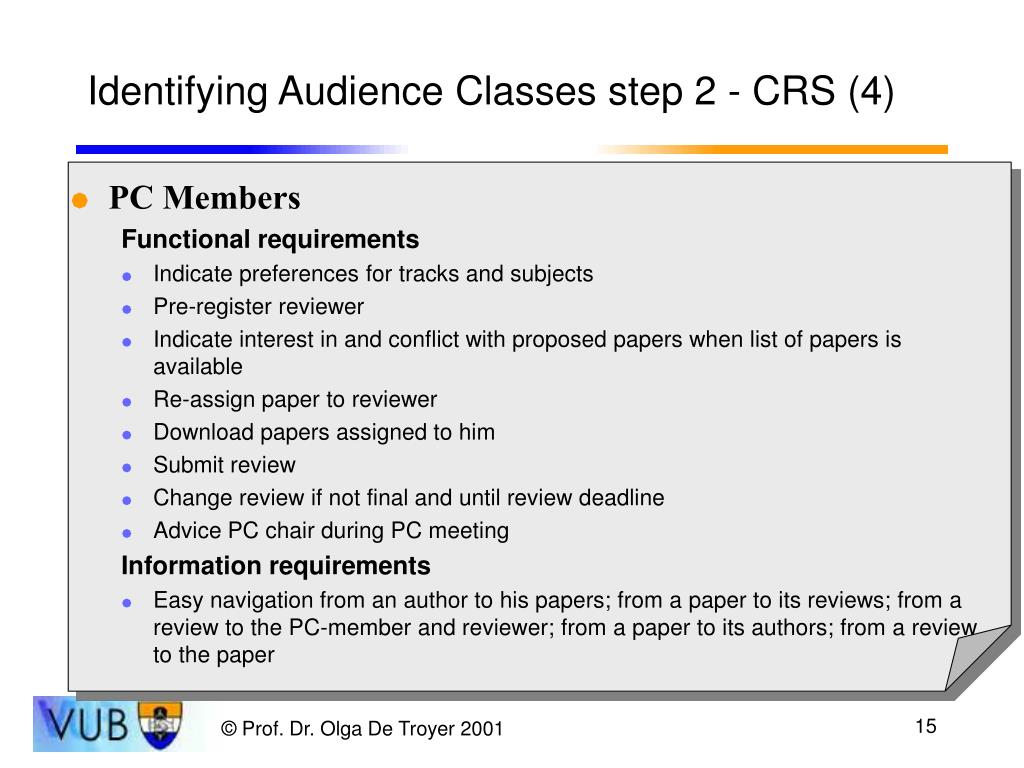 Identifying Audience Classes step 2 - CRS (4)