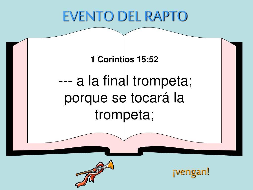 EVENTO DEL RAPTO
