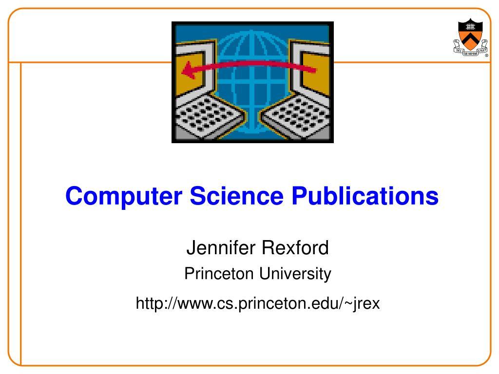 computer science publications l.