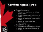 committee meeting cont d11