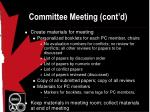 committee meeting cont d12