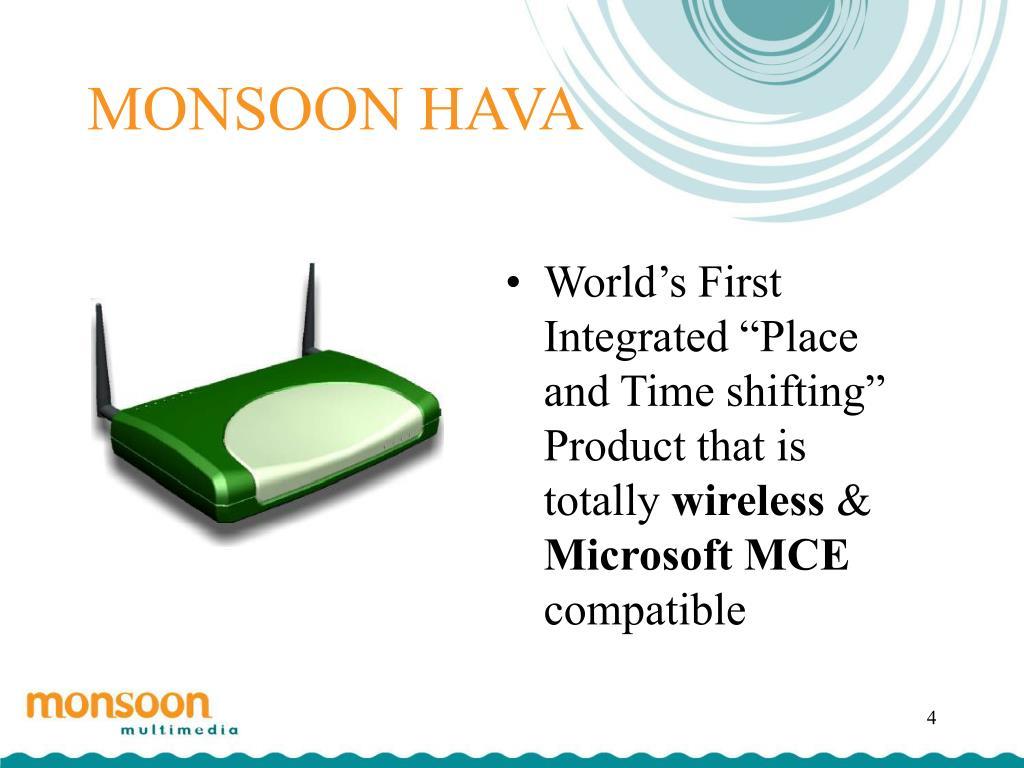 MONSOON HAVA