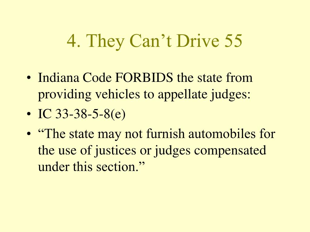 4. They Can't Drive 55