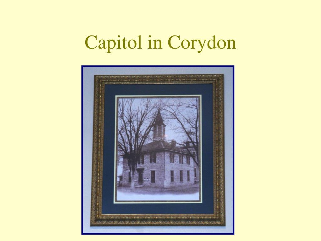Capitol in Corydon