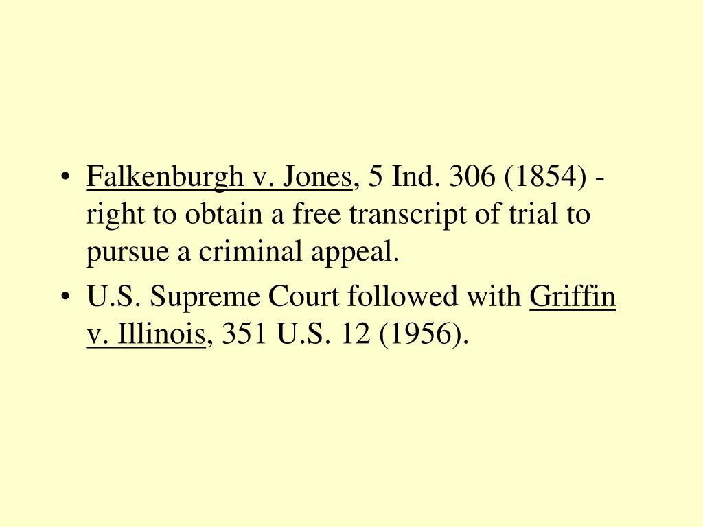 Falkenburgh v. Jones