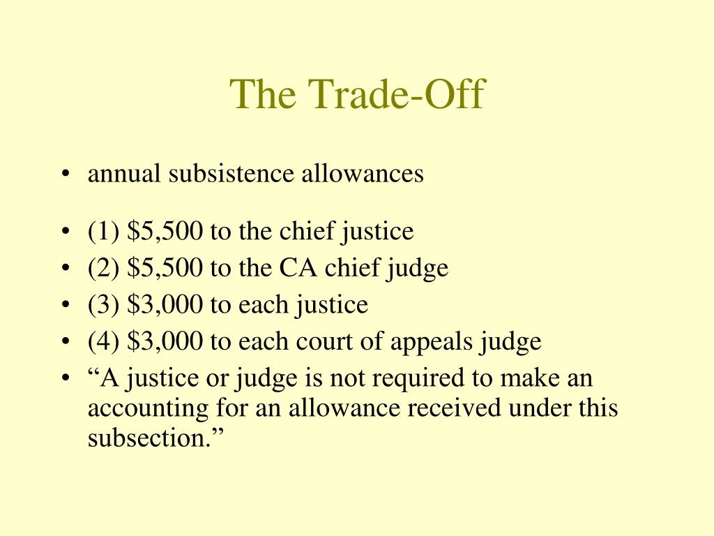 The Trade-Off
