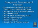 engagement development of proposals20