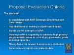 proposal evaluation criteria21