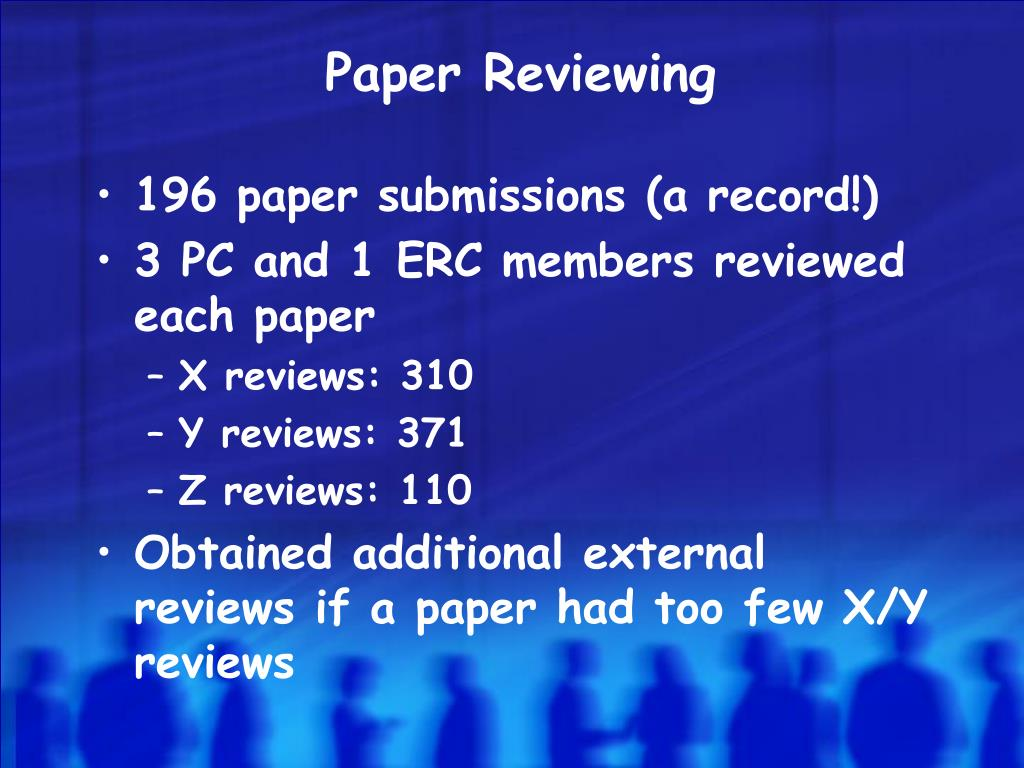 Paper Reviewing