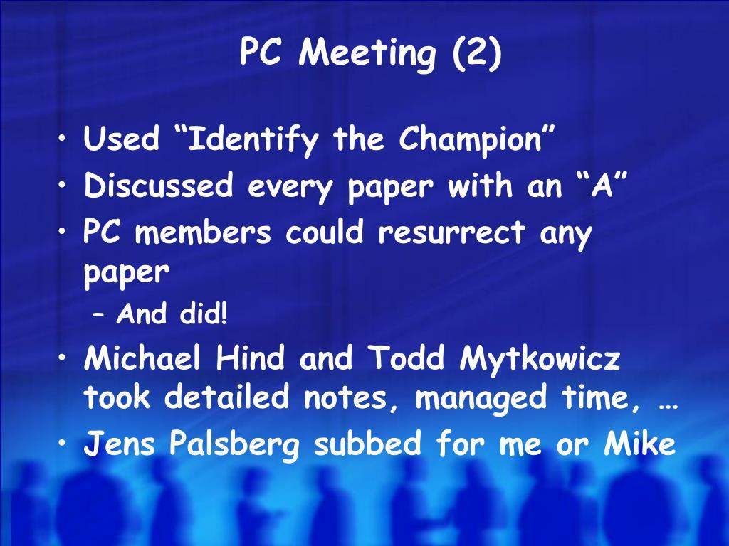 PC Meeting (2)