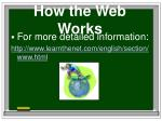how the web works8